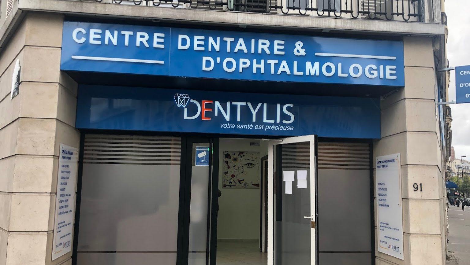 Centre dentaire et ophtalmologie Prony Pereire Dentylis