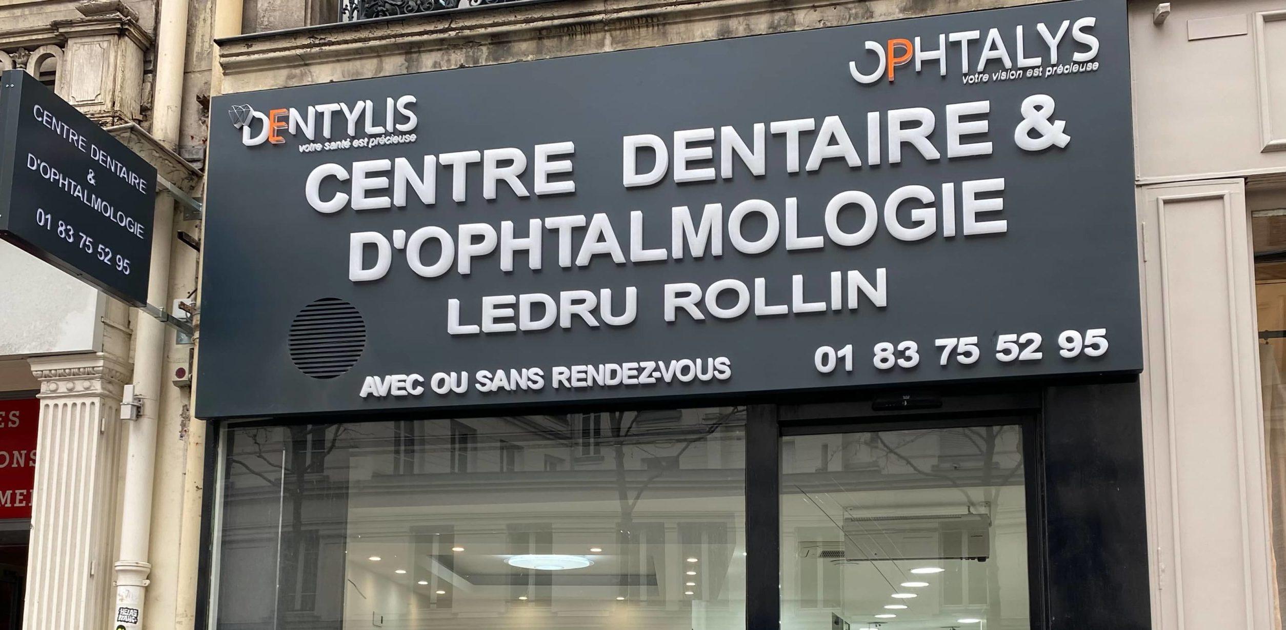 Centre dentaire et ophtalmologie Paris 12 Ledru Rollin