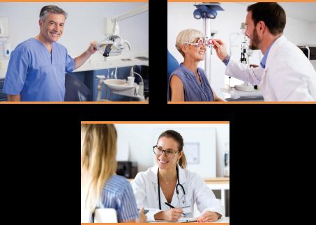 Ofrre de soins dentaire ophtalmologie et médecine générale
